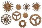 Creative Expressions Art-Effex - Cogs and Gears - CEAELGEAR